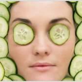 Огіркові маски для обличчя