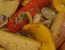Страви з картоплі і овочів