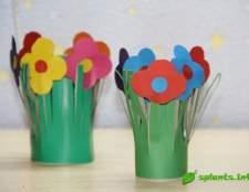 Квіти з паперу до 8 березня для дітей та їх батьків