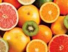 Маленькі цитрусові плоди каштана