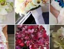 Весільні букети з фаленопсиса фото
